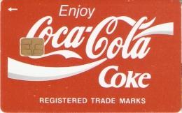 TARJETA DE RUSIA DE COCA-COLA DE TIRADA 2000 (COKE) - Publicidad