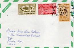 Imprimé  ;  Viet-nam - France1964 - Viêt-Nam