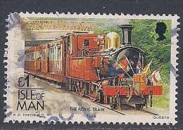 Isle Of Man ~ 1988-92 ~  £1 Definitive ~ SG 380 ~ Used - Isle Of Man