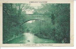 2 - VILLENEUVETTE - LE PONT DE L'AMOUR - Francia
