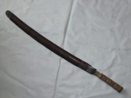 JAPON : SABRE ANCIEN TRANSFORME - Armes Blanches