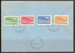 Jugoslawien / Yugoslavia / Yougoslavie - Mi.548/51 On Cover With First Day Cancel 1948 - Mi.CV: 150,00€ FDC - FDC