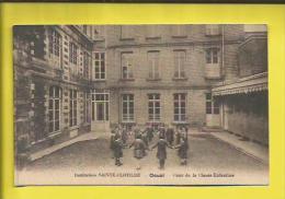 DOUAI  Institution SAINTE-CLOTILDE  Cour De La Classe Enfantine Voir Scanner - Douai