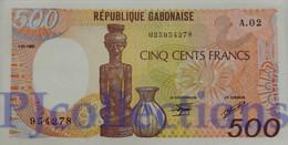GABON 500 FRANCS 1985 PICK 8 UNC - Gabon
