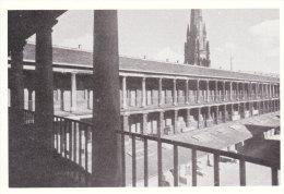 Postcard HALIFAX Piece Hall 1945 Cloth Merchant Market Place Yorkshire Repro - England