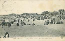 62 - BERCK-PLAGE - La Plage à Mer Basse (ND Phot. 44) - Berck