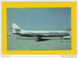 LIMITED ISSUE POSTCARD AIRPLANE CARAVELLE INTER FRET AIRCRAFTS AVIONS - 1946-....: Moderne