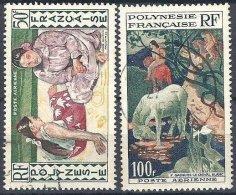 2 Tableaux De Gauguin De 1958 Oblitérés - Oblitérés