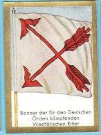 Historische Fahnen - 1932 - 43. Banner Der Für Den Deutschen Orden Kämfenden Westfälischen Ritter - Chromos