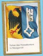 Historische Fahnen - 1932 - 45. Fahne Des Hansekontors In Nowgorod - Chromos
