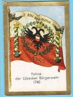 Historische Fahnen - 1932 - 48. Fahne Der Lübecker Bürgerwehr 1740 - Chromos