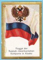 Historische Fahnen - 1932 - 200. Flagge Der Russisch-Amerikanischen Kompanie In Alaska - Other