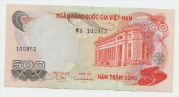SOUTH VIETNAM 500 DONG 1970 VF+ P 28A 28 A - Vietnam