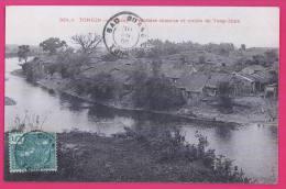 840 ASIE VIET-NAM - TONKIN - MONCAY - Frontière Chinoise Et Rivière De Tong-Hinh - Vietnam