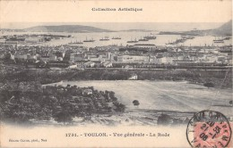83 TOULON VUE GENERALE LA RADE - Toulon
