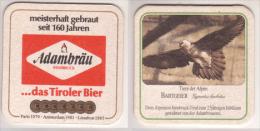 Adambräu , Innsbruck , Tiere Der Alpen , Bartgeier - Bierdeckel
