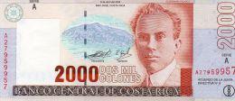 COSTA RICA : 2000 Colones 2003 (unc) - Costa Rica