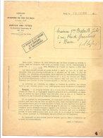 CHEMIN DE FER DU MIDI SERVICE DES TITRES REMBOURSEMENT DE TITRES 1938 - Chemin De Fer & Tramway