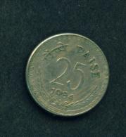 INDIA - 1984 25p Circ. - India