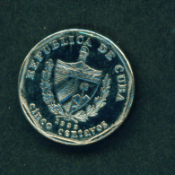 CUBA - 1999 5c Circ. - Cuba