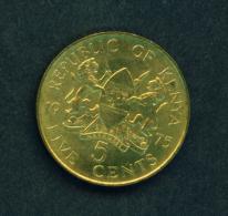 KENYA - 1975 5c Circ. - Kenya