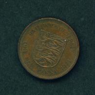 JERSEY - 1971 1p Circ. - Jersey