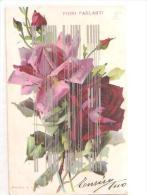 80307) Cartolina Di Rose - Fiori Parlanti - Brevetto A. G. M. - Nuova - Flowers, Plants & Trees