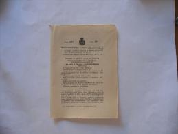 REGIO ESERCITO TRATTAMENTO PENSIONE SOTTUFFICIALI  REGIO DECRETO 1919 - Decrees & Laws