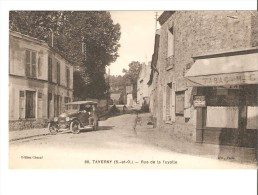 CPA-95-taverny Rue De La Tuyolle-VOITURE ANCIENNE-TABAC - Taverny