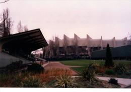PHOTO------75-----PARC DES PRINCES  & Stade Geo André,dos Stade Francais -----2 Scans - Football