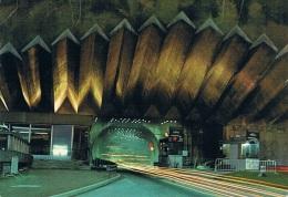 Au Pays Du MONT-BLANC, TUNNEL ROUTIER Sous Le Mont-Blanc, FRANCE-ITALIE, Longueur : 11,600 Km, L'entrée - 1973 - 2 Scans - Francia