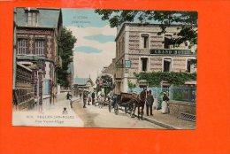 76 VEULES Les ROSES : Rue Victor Hugo (couleur) - Veules Les Roses