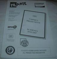 Filarte -  Catalogo Asta - Francobolli - N.191 - 28.02.2007 - Cataloghi Di Case D'aste