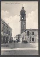 5220-LUZZARA(REGGIO EMILIA)-PIAZZA ENRICO TOTI-ANIMATA-1952-FG - Reggio Emilia