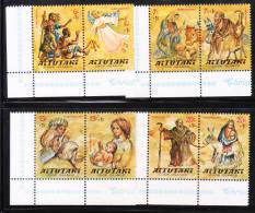 Aitutaki 1977 Surtax For Child Welfare 4v MNH - Aitutaki
