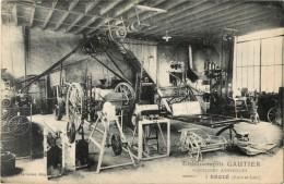 28  BROUE - ETABLISSEMENTS GAUTIER - MACHINES AGRICOLES - Ohne Zuordnung