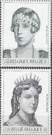 Belgique 2001 COB 2968 - 2969 Neuf ** Cote (2016) 4.25 Euro La Dynastie Belge Reines - Belgique