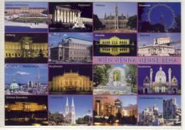 WIEN - VIENNA - VIENNE  - BEHA     Mehrfachansicht Einer Internationalen Stadt - Wien