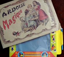 Belle Reproduction D'une Ardoise Magique, Complète Avec Stylet - Toy Memorabilia