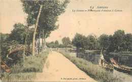 Somme - Ref : A470- Amiens -promenade  D'amiens à Camon - Carte Bon état - Amiens