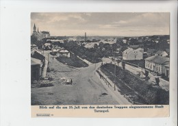 UA 46000 TARNOPOL - TERNOPIL, Militär 1.Weltkrieg, Stadtansicht Der Eroberten Stadt, Photo 18 X 23,5 Cm - Ukraine