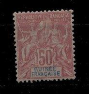 Guinée * N° 11 - 50c Rose  - - Guinée Française (1892-1944)