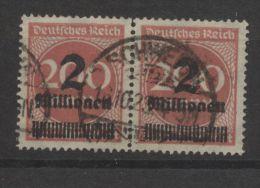 DR MiNr 209 waag Paar Schwerin 16.10.23 oben angetrennt