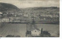 CLERMONT-L'HERAULT - VUE GENERALE ( LA GARE ) - Clermont L'Hérault