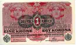 Autriche Austria 1 Krone 1 Dezember 1916 UNC P20 - Austria