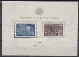 LETTONIE - 1938 - BF N° 1 - Neuf ** - MNH - Cote 35,00 € - Lettonie