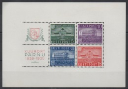 ESTONIE - 1939 - BF N° 4 - Neuf ** - MNH - Cote 45,00 € - Estonie