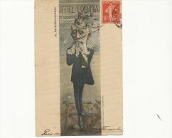 Millies Lacroix Caricature Par Muller  Ministre Socialiste Colonies Né A Dax - Dax
