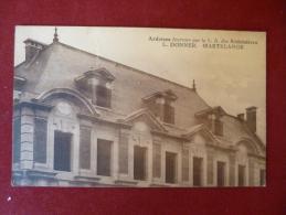 Martelange : Ardoises Fournies Par La S.A Des Ardoisières L. Donner (plis - Dos Abîmé Léger) (M1100) - Martelange