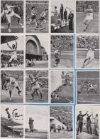 Kosmos Zigaretten - 16 X Jeux Olympiques Helsinki 1952 - Cigarette Cards